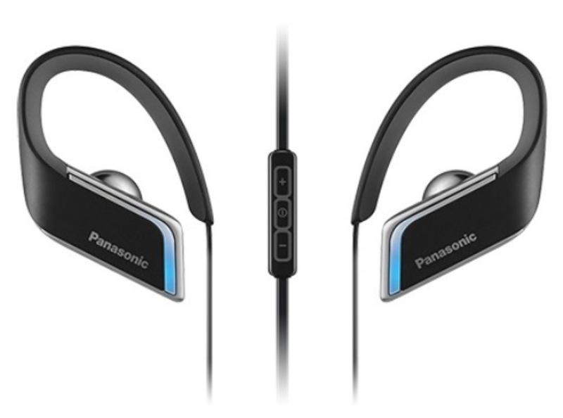 Наушники Panasonic RP-BTS50GC-KНаушники и гарнитуры<br>Спортивные Bluetooth наушники BTS50 обеспечивают высококачественное звучание даже во время интенсивных занятий спортом, а система влагозащиты класса IPX4 позволит продолжить тренировку, несмотря на дождь. Гибкая и легкая конструкция наушников обеспечивает надежную фиксацию в ухе и удобство ношения. Голубая светодиодная подсветка по краям обеспечивает дополнительную безопасность во время вечерних пробежек. Благодаря своей конструкции наушники BTS50 идеально крепятся на ухе и позволяют в полной мере насладиться занятиями спортом под вашу любиму...<br><br>Тип: гарнитура<br>Тип подключения: Беспроводные<br>Диапазон воспроизводимых частот, Гц: 8 - 20 000<br>Микрофон: есть