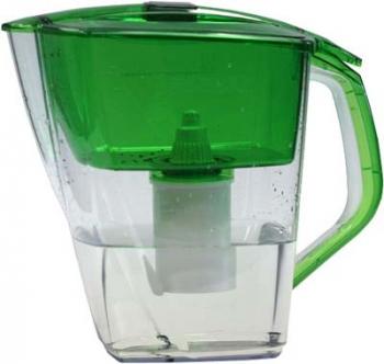Кувшин Барьер Гранд NEO NephriteФильтры и умягчители для воды<br>Кувшин изготовлен из высококачественного пластика BASF, допущенного для контакта с питьевой водой и укомплектован воронкой, уникальная конструкциия которой препятствует попаданию неочищенной воды и пыли в отфильтрованную воду.<br><br>Тип: фильтр-кувшин<br>Тип фильтра: кувшин<br>Подключение к водопроводу: нет<br>Фильтрующий модуль в комплекте: есть<br>Ресурс стандартного фильтрующего модуля: 350 л