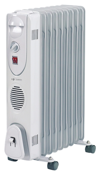 Масляный радиатор Timberk TOR 31.2912 QОбогреватели<br><br><br>Тип: масляный радиатор<br>Максимальная мощность обогрева: 2900 Вт<br>Площадь обогрева, кв.м: 20<br>Количество секций: 12<br>Каминный эффект : есть<br>Управление: механическое<br>Регулировка температуры: есть<br>Термостат: есть<br>Выключатель со световым индикатором: есть<br>Напольная установка: есть