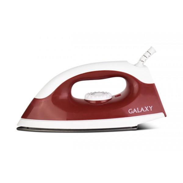 Утюг Galaxy GL 6126 RedУтюги и гладильные системы<br>Ультрагладкие подошвы утюгов Galaxy из нержавеющей стали, с керамическим или эмалевым покрытием обеспечивают идеальное скольжение.<br>