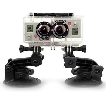 Бокс для синхронизации камер GoPro 3D Hero system AHD3D (AHD3D-001)Экстрим видеокамеры<br>3D Hero system AHD3D имеет модульную конструкцию, которая позволяет объединить две камеры&amp;nbsp;&amp;nbsp;GoPro&amp;nbsp;&amp;nbsp;HD&amp;nbsp;&amp;nbsp;HERO&amp;nbsp;&amp;nbsp;1080p в одну&amp;nbsp;&amp;nbsp;3D&amp;nbsp;&amp;nbsp;камеру, которая является самой компактной и одной из самых доступных в мире.&amp;nbsp;&amp;nbsp;Бокс&amp;nbsp;&amp;nbsp;может быть закреплён на теле, установлен на автомобиле и любой другой технике – или же можно просто вести съёмку с рук, как обычной камерой. Две&amp;nbsp;&amp;nbsp;GoPro&amp;nbsp;&amp;nbsp;HD&amp;nbsp;&amp;nbsp;HERO&amp;nbsp;&amp;nbsp;1080p совмещаются в одном водонепроницаемом ударопрочном корпусе из поликарбоната и соединяются синхронизирующим кабелем, что позволяет пол...<br>