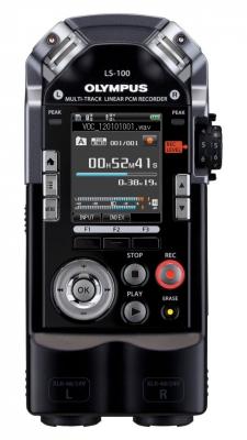 Цифровой диктофон Olympus LS-100Диктофоны<br><br><br>Тип: Цифровой диктофон<br>Тип носителя: Flash<br>Обьём встроенной памяти Mb: 4000<br>Блокировка кнопок: Есть<br>Встроенный динамик: есть