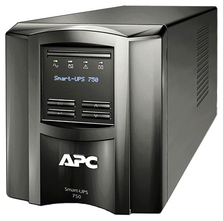 Источник питания APC by Schneider Electric Smart-UPS 750VA LCD 230V (SMT750I)