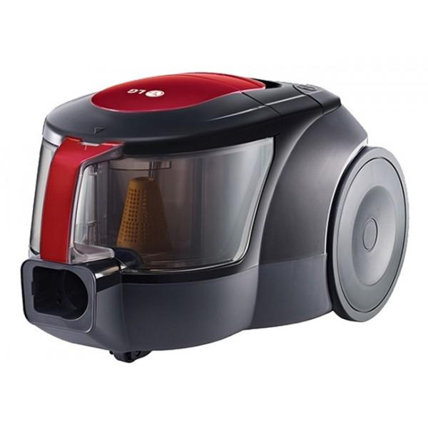 Пылесос LG VK705W06NПылесосы<br>- Легко моющийся, удобный контейнер<br>Контейнер легко вытаскивается и моется.<br><br>- Компактный размер<br>Компактный дизайн безмешковых пылесосов LG обеспечивает лёгкое хранение.<br><br>- Система Ellipse Cyclone<br>Благодаря особой форме эллипса, обеспечивается высокая центробежная сила, которая концентрируется в узкой части эллипса и увеличивает мощность воздушного потока в его широкой части, что позволяет отделять даже микрочастицы пыли от воздуха.<br><br>Тип: Пылесос<br>Потребляемая мощность, Вт: 2000<br>Мощность всасывания, Вт: 380<br>Тип уборки: Сухая<br>Регулятор мощности на корпусе: Нет<br>Длина сетевого шнура, м: 5<br>Фильтр тонкой очистки: Есть<br>Пылесборник: Циклонный фильтр<br>Емкостью пылесборника : 1.20 л