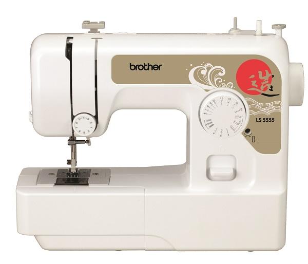Швейная машина Brother LS-5555Швейные машины<br>Модельный ряд 2016 года от BROTHER! BROTHER LS-5555 - бытовая швейная машина с горизонтальным челноком. Простая в управлении и шитье швейная машина для дома. Швейная машина BROTHER LS-5555 работает с любыми видами тканей. Идеально подойдет начинающим любителям шитья. Выполняет основные швейные операции при изготовлении и ремонте одежды, полуавтоматическую петлю. Горизонтальный тип челночного устройства обеспечивает тихую работу механизма машины. Современная светодиодная подсветка рабочей зоны шитья.<br><br>Обратите внимание: BROTHER LS-5555 одинакова по швейным возможностям...<br><br>Тип: электромеханическая<br>Тип челнока: ротационный горизонтальный<br>Вышивальный блок: нет<br>Количество швейных операций: 14<br>Выполнение петли: полуавтомат<br>Максимальная длина стежка: 4.0 мм<br>Максимальная ширина стежка: 5.0 мм<br>Эластичная строчка : есть<br>Кнопка реверса: есть<br>Рукавная платформа: есть