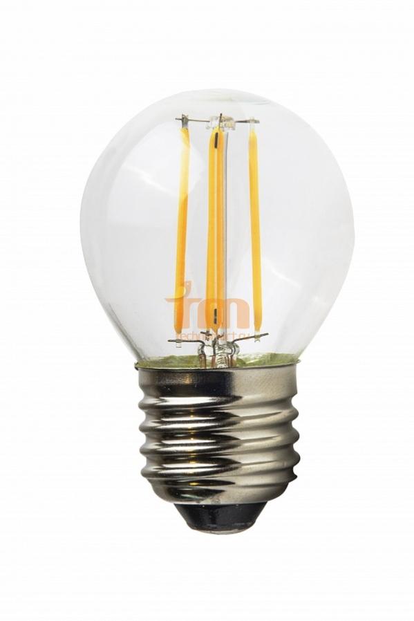 Светодиодная лампа VKlux BK-27W5G45 Edison DIMСветодиодные лампы<br><br><br>Тип: светодиодная лампа<br>Тип цоколя: E27<br>Рабочее напряжение, В: 220<br>Мощность, Вт: 5<br>Мощность заменяемой лампы, Вт: 60<br>Световой поток, Лм: 450<br>Цветовая температура, K: 3000<br>Угол раскрытия, °: 360<br>Диммирование: да<br>Гарантия, мес.: 24