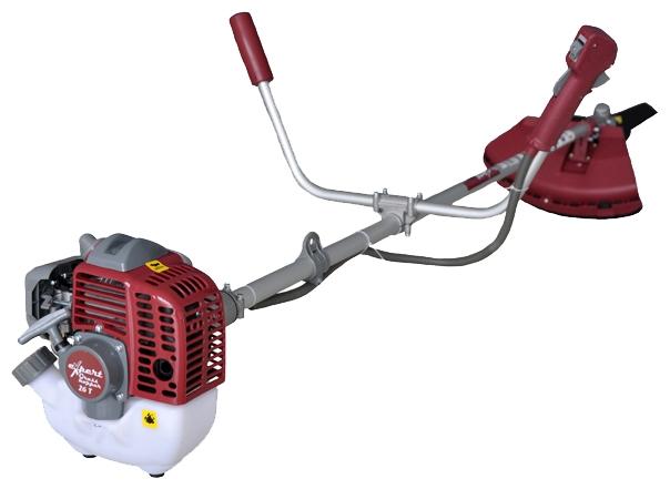 Триммер Expert Grasshopper 26TГазонокосилки и триммеры<br><br><br>Тип: триммер<br>Тип двигателя: бензиновый<br>Ширина скашивания, см: 25 см<br>Дополнительно: обороты двигателя 7000<br>Мощность двигателя (Вт): 740<br>Мощность двигателя (л.с.): 1