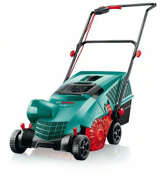 Аэратор Bosch ALR 900 Raker [060088A000]Скарификаторы и аэраторы<br>Аэратор Bosch ALR 900 Raker предназначен для удаления мха, старой травы, листьев с газона. Он также способствует свободному доступу воздуха, влаги, питательных веществ и солнца к корневой системе декоративной травы. В результате удаляются сорняки, слабая и приболевшая трава, а Ваш газон приобретает здоровый и идеально выглядит на протяжении всего сезона.<br><br>Технические особенности<br>Bosch ALR 900 Raker оснащён специальным валом со стальными пружинными зубцами, который качественно «вычёсывают» газон и способствуют аэрации не повреждая при этом траву и покрытие...<br><br>Тип: аэратор<br>Мощность двигателя: 900 Вт<br>Система валков: 10 двойных зубьев из пружинной стали<br>Рабочая ширина аэратора, см: 32<br>Рабочая высота: +10/+5/0/-5 мм<br>Регулировка рабочей высоты: 4 уровня<br>Емкость травосборника, л: 50