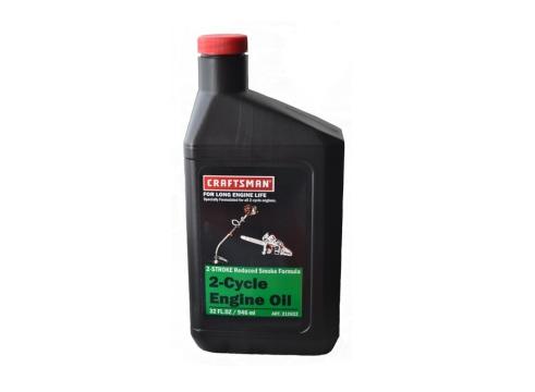 Масло для двухтактных двигателей Craftsman ДОЗАТОР 0,946лАксессуары для пил<br><br><br>Тип: масло для двухтактных двигателей