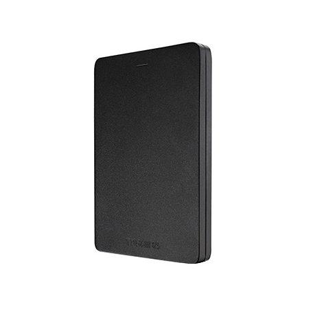 Внешний жесткий диск Toshiba CANVIO ALU 500GB Black (HDTH305EK3AA)Внешние жесткие диски<br><br>