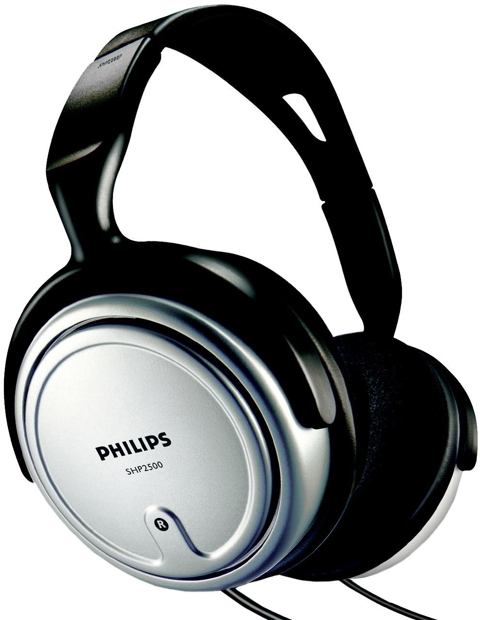 Наушники Philips SHP2500Наушники и гарнитуры<br>Наушники philips shp2500: приятная цена и звучание.<br>Наушники philips shp2500 00 понравятся как любителям послушать музыку в хорошем качестве, так и поклонникам онлайн-игр. Ведь эти мониторные наушники, кроме того, что выдают отличный звук, еще и очень удобные. Настолько, что их можно не снимать часами. С ними так удобно, что вы просто забываете о них!<br>Широкое оголовье этих наушников плотно прилегает к голове, настолько же плотно амбушюры прилегают к ушам. Но при этом через пару часов в наушниках у вас нет ощущения, будто вашу голову зажали в тиски. Знакомое ощущение,...<br><br>Тип: наушники<br>Тип акустического оформления: Закрытые<br>Вид наушников: Мониторные<br>Тип подключения: Проводные<br>Номинальная мощность мВт: 500<br>Диапазон воспроизводимых частот, Гц: 15 - 22000 Гц<br>Сопротивление, Импеданс: 32 Ом<br>Чувствительность дБ: 106
