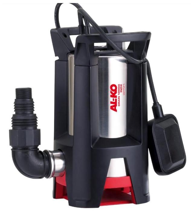 Насос AL-KO Drain 10000 Inox ComfortНасосы<br>Максимальная производительность 10000 л/ч. Благодаря особой конструкции рабочих колес подходит для использования и в экстремальных условиях. Оптимальная защита от ржавчины для длительного срока службы. Многорядный сальник с дополнительным V-уплотнением.<br><br>Глубина погружения: 5 м<br>Максимальный напор: 9 м<br>Пропускная способность: 10 куб. м/час<br>Напряжение сети: 220/230 В<br>Потребляемая мощность: 750 Вт<br>Качество воды: грязная<br>Размер фильтруемых частиц: 30 мм<br>Установка насоса: вертикальная