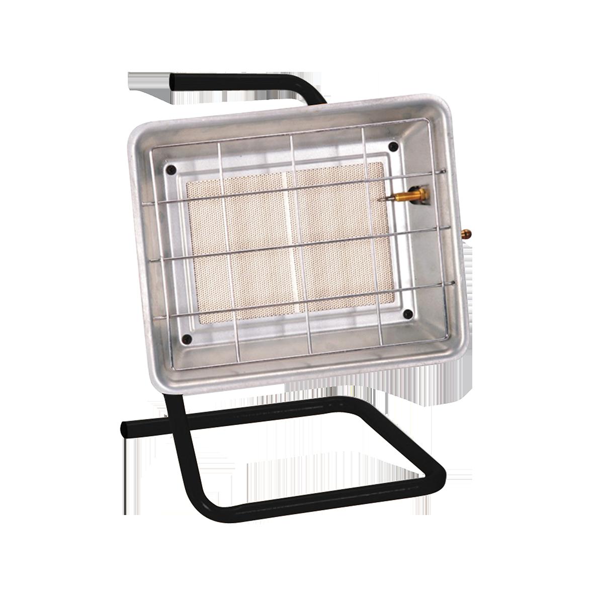 Газовый обогреватель Timberk TGH 4200 X2Газовые обогреватели<br>Удобная ручка для перемещения<br>Компактный размер<br>Регулируемая тепловая мощность<br>Легкость и удобство в транспортировке<br>Удобная складная ручка и подставка<br>Высококачественная керамическая панель<br>Профессиональный обогрев<br>В комплекте газовый шланг и редуктор<br>