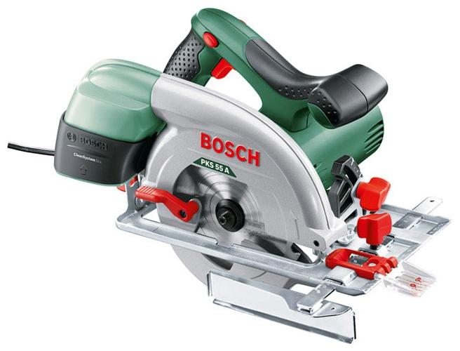 Дисковая пила Bosch PKS 55 А [0603501020]