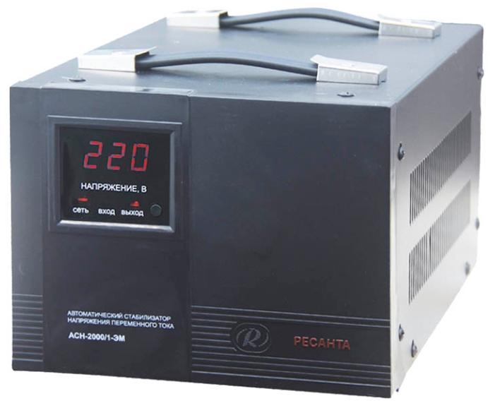 Стабилизатор напряжения Ресанта ACH-2000/1-ЭМСетевые фильтры и стабилизаторы<br><br><br>Тип: стабилизатор напряжения