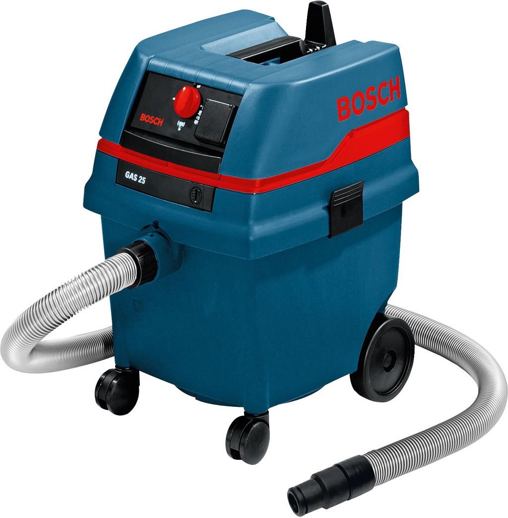 Строительный пылесос Bosch GAS 25 L SFC [0601979103]Пылесосы<br><br><br>Тип: Строительный пылесос<br>Потребляемая мощность, Вт: 1200<br>Тип уборки: Сухая\влажная<br>Регулятор мощности на корпусе: Есть<br>Пылесборник: Мешок<br>Емкостью пылесборника : 25 л