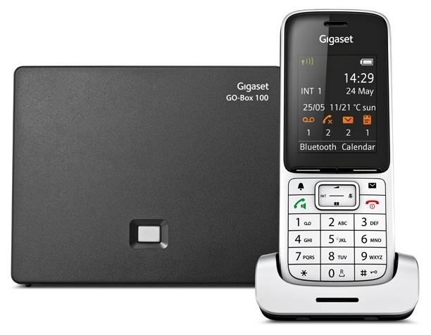 VoIP-телефон Gigaset SL450A GOSIP-телефоны<br>Беспроводной телефон Gigaset SL450A GO – это телефон будущего. Поддерживаемый Bluetooth® для подключения гарнитуры обеспечивает еще большую мобильность во время звонков.<br><br>Телефон может быть подключен к аналоговой линии связи или по IP-протоколу. Функция Gigaset GO разработана для перехода от стационарной телефонии к передачи голоса по VoIP, которая приходит на смену традиционной системе стационарных сетей. Телефон Gigaset SL450A GO поддерживает функции: режим громкой связи, определитель номера, автоответчик, двусторонней записи разговора, голосовая почта &amp;#40;до 55 минут...<br><br>Поддержка DECT: есть<br>Поддержка GAP: есть<br>Поддержка SIP: есть<br>Подключение гарнитуры: есть<br>Интерфейсы: USB, LAN<br>Встроенная телефонная книг: есть, 500 контактов<br>Конференц-связь: есть