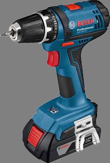 Дрель-шуруповерт Bosch GSR 18-2-LI 0 [06019B7302]Дрели, шуруповерты, гайковерты<br>- Полноценный сверлильный патрон Auto-Lock 10 мм<br>- Bosch Electronic Cell Protection &amp;#40;ECP&amp;#41;: система защиты аккумулятора от перегрузки, перегрева и глубокого разряда<br>- Встроенная светодиодная подсветка для освещения рабочей зоны в темных местах<br>- Благодаря удобному зажиму для переноски на ремне инструмент постоянно готов к работе<br><br>Тип: дрель-шуруповерт<br>Тип инструмента: безударный<br>Тип патрона: быстрозажимной<br>Количество скоростей работы: 2<br>Питание: от аккумулятора<br>Возможности: реверс, фиксация шпинделя, электронная регулировка частоты вращения<br>Съемный аккумулятор: есть