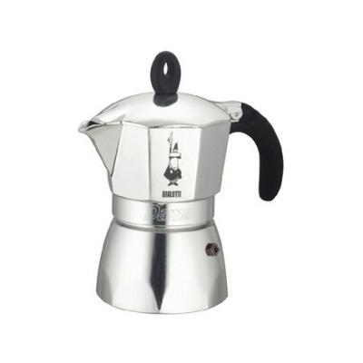 Кофеварка Bialetti Dama 3 п. 2152 AluminiumКофеварки и кофемашины<br><br><br>Тип : гейзерная кофеварка<br>Тип используемого кофе: Молотый<br>Объем, л: 0.12<br>Материал корпуса  : Металл