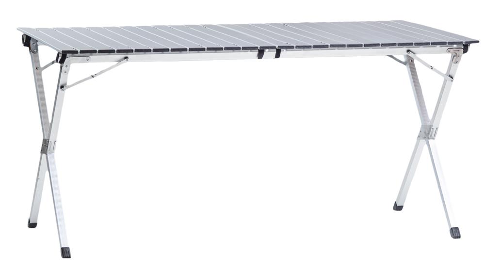 Стол Green Glade 5203Походная мебель<br>Каркас: алюминий. Размеры: 140*70*7 0см . Особенности: большой и компактный стол. При достаточно больших размерах в разложенном виде, упаковывается в чехол цилиндрической формы.<br><br>Тип: стол<br>Каркас: алюминий 11 мм<br>Материал: алюминий ? 32х25 мм. OXFORD 600