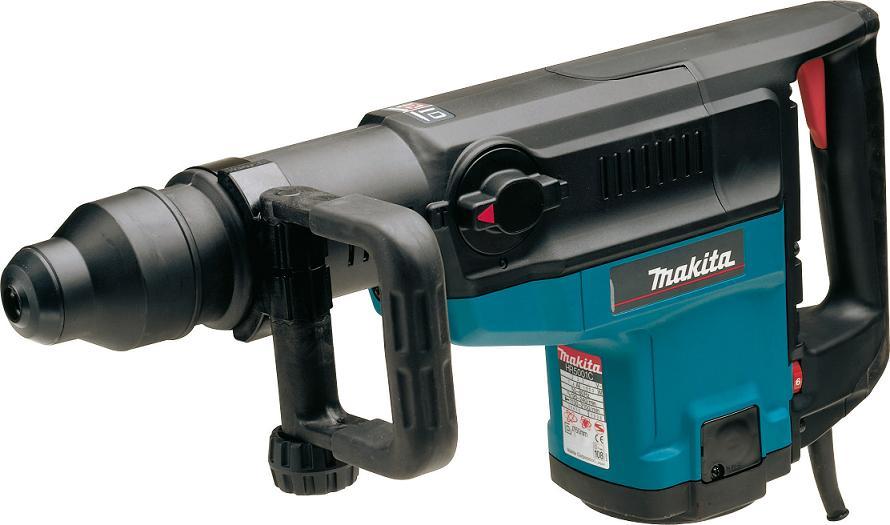 Перфоратор Makita HR5001CПерфораторы<br><br><br>Тип крепления бура: SDS-Max<br>Количество скоростей работы: 1<br>Потребляемая мощность: 1500 Вт<br>Макс. энергия удара: 17.5 Дж<br>Макс. диаметр сверления (бетон): 50 мм<br>Макс. диаметр сверления (полой коронкой): 160 мм<br>Питание: от сети<br>Возможности: электронная регулировка частоты вращения, индикатор износа угольных щеток