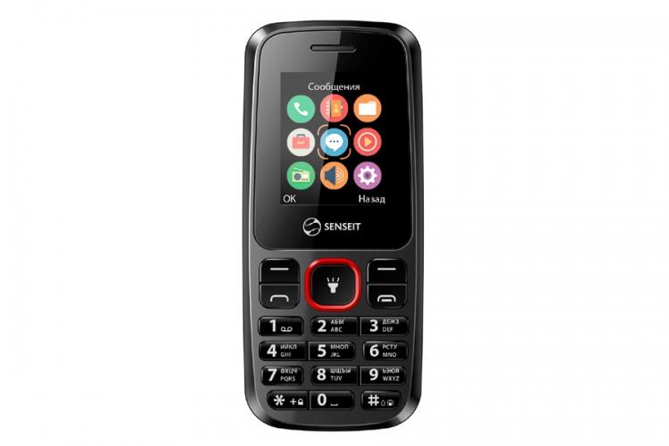 Мобильный телефон Senseit L105 BlackМобильные телефоны<br><br><br>Тип: Смартфон<br>Стандарт: GSM 900/1800/1900<br>Тип трубки: классический<br>Поддержка двух SIM-карт: есть<br>Фотокамера: 0.30 млн пикс., 640x480<br>Разъем для наушников: 3.5 мм<br>Процессор: 312 МГц<br>Количество ядер процессора: 1
