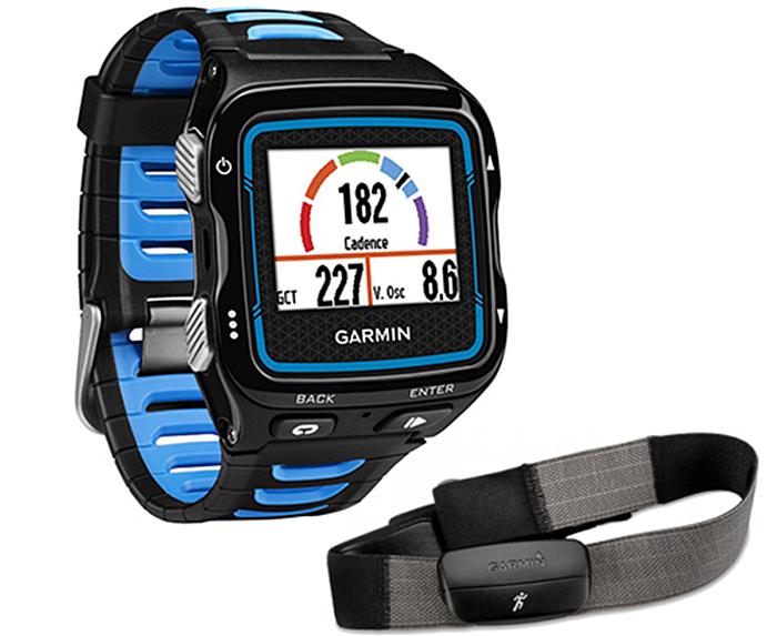 Умные часы Garmin Forerunner 920XT HRM Black/Blue [010-01174-30]