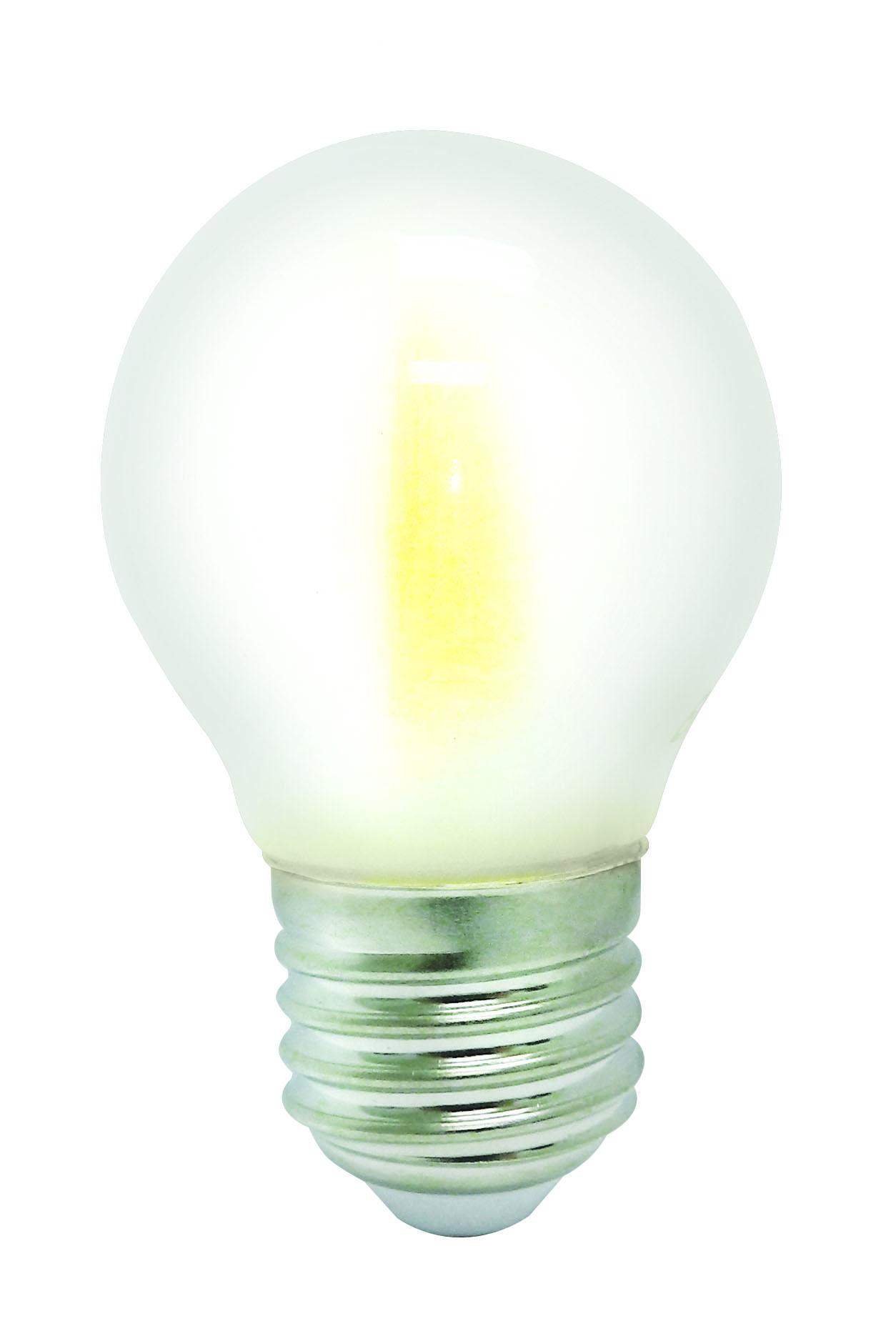 Светодиодная лампа VKlux BK-27W5G45 Frosted ШарСветодиодные лампы<br><br><br>Тип: светодиодная лампа<br>Тип цоколя: E27<br>Рабочее напряжение, В: 220<br>Мощность, Вт: 5<br>Мощность заменяемой лампы, Вт: 60<br>Световой поток, Лм: 450<br>Цветовая температура, K: 3000К<br>Угол раскрытия, °: 360<br>Гарантия, мес.: 24
