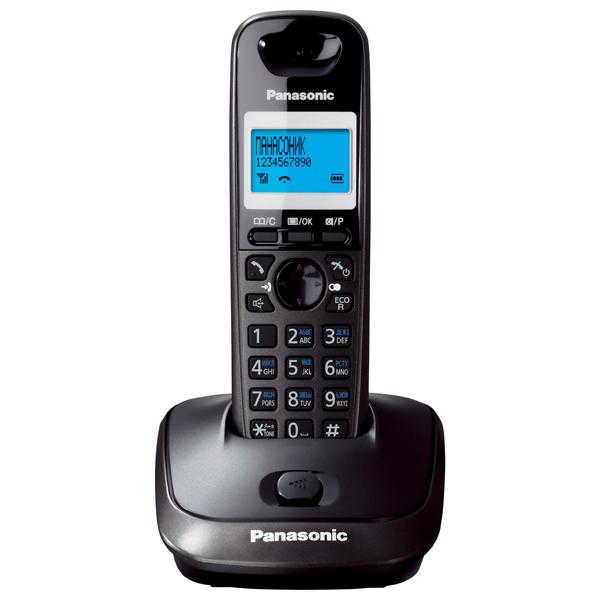 Радиотелефон Panasonic KX-TG2511RUTРадиотелефон Dect<br>Panasonic kx tg2511rut: общайтесь без перерывов!<br>Черный, изящный, удобный и надежный — вы, наверное, уже догадались, о чем идет речь. Конечно, о радиотелефоне Panasonic kx tg2511rut! Этот аппарат отличается не только необходимым набором функций, но еще и фирменным дизайном и стилем Panasonic. Его так приятно держать в руке, что хочется общаться без остановки! Да останавливаться и незачем, ведь этот радиотелефон очень удобно держать в руке, а время его работы в режиме разговора составляет целых 18 часов!<br>Вы хотите поскорее узнать, как приобрести этот радиотелефон? Спешим...<br><br>Тип: Радиотелефон<br>Количество трубок: 1<br>Рабочая частота: 1880-1900 МГц<br>Стандарт: DECT<br>Радиус действия в помещении / на открытой местност: 50/300 м<br>Время работы трубки (режим разг. / режим ожид.): 18/170<br>Дисплей: монохромный дисплей<br>Возможность настенного крепления: Есть<br>Журнал номеров: 50