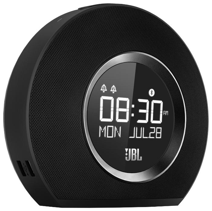 Акустическая система JBL Horizon BlackАкустические системы<br><br><br>Тип: Беспроводные колонки<br>Состав комплекта: портативное аудио<br>Количество полос: 1<br>Мощность, Вт: 2x5 Вт<br>Диапазон воспроизводимых частот: 70 - 20000 Гц<br>Интерфейсы: линейный (разъем mini jack), Bluetooth