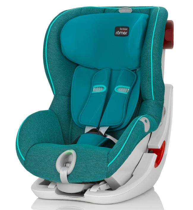Детское автокресло Britax Romer King II LS Green MarbleДетские автокресла<br>Автокресло Kng II LS оснащено уникальной системой световой индикации натяжения ремня безопасности и складывающимся вперед сиденьем для удобства установки. <br>- Установка в автомобиле с помощью штатного ремня безопасности<br>- Индикатор определяет уровень натяжения внутреннего ремня автокресла<br>- 5-точечные ремни безопасности, регулируемые одной рукой<br>- Угол наклона регулируется в 4-х положениях<br>- Система наклона кресла вперед обеспечивает улучшенный доступ и обзор при установке кресла в салоне автомобиля<br>- Глубокие мягкие боковины обеспечивают оптимальную...<br>
