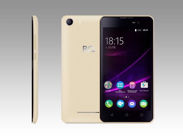 Мобильный телефон BQ BQS-5065 Choice GoldМобильные телефоны<br><br>