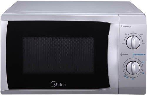 Микроволновая печь Midea MM 820 CFB-SМикроволновые печи<br><br><br>Объём, литров: 20<br>Тип: Микроволновая печь<br>Тип управления: Механическое<br>Переключатели: Поворотные