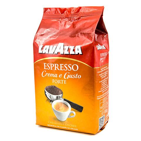 Кофе в зернах Lavazza Gusto Forte 1000 гКофе, какао<br>Вам стоит попробовать этот вкуснейший и самое главное — полезный кофе от компании Lavazza, который не только бодрит и придает силы, но и восстанавливает ваше здоровье!<br>&amp;nbsp;&amp;nbsp;&amp;nbsp;&amp;nbsp;<br>Кофе в зернах Lavazza Gusto Forte &amp;#40;Лавацца Густо Форте&amp;#41; - смесь кофейных зерен Lavazza Gusto Forte состоит из Арабики Южной Америки и Робусты из Африки. Здесь преобладает наиболее полный и насыщенный вкус. Зерна Робусты тёмной обжарки придают крепость и шоколадный аромат,&amp;nbsp;&amp;nbsp;а зерена натуральной Арабики из Бразилии, ещё больше усиливает вкус и дают плотность и мягкость послевкусия....<br><br>Тип: кофе в зернах<br>Обжарка кофе: средняя<br>Состав: 20% Арабика/ 80% Робуста