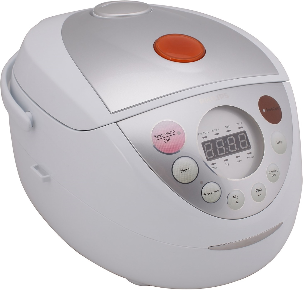 Мультиварка Philips HD3139/03Мультиварки и пароварки<br><br><br>Тип  : мультиварка<br>Общий объем, литров  : 4<br>Максимальная потребляемая мощность, Вт   : 980<br>Тип управления  : Электронное