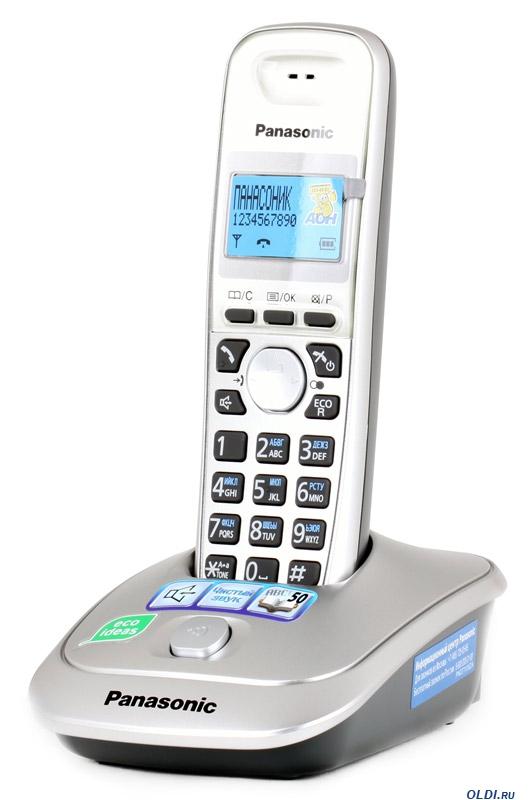 Радиотелефон Panasonic KX-TG2511RUWРадиотелефон Dect<br>Panasonic kx tg2511ru &amp;mdash; удачная покупка!<br><br><br>  <br><br><br>Что нужно для комфортного общения дома и на работе? Правильно, удобный телефон. Такой, чтобы вы могли вести любые переговоры с коллегами, начальством, родными и друзьями с удовольствием. Такой, чтобы у вас была полная свобода движений. Такой, чтобы гарантировал идеальное качество связи. Такой, как радиотелефон Panasonic kx tg2511ru.<br><br><br>  <br><br><br>Кроме перечисленных достоинств у этого телефона еще и прекрасная цена. В самом деле, найти такой аппарат с такой низкой стоимостью и с такого высокого качества — большая удача....<br><br>Тип: Радиотелефон<br>Количество трубок: 1<br>Рабочая частота: 1880-1900 МГц<br>Стандарт: DECT<br>Радиус действия в помещении / на открытой местност: 50/300 м<br>Время работы трубки (режим разг. / режим ожид.): 18/170<br>Дисплей: монохромный дисплей<br>Возможность настенного крепления: Есть<br>Журнал номеров: 50