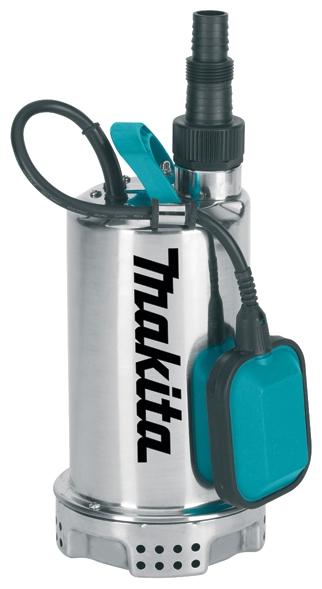 Насос Makita PF1100Насосы<br><br><br>Глубина погружения: 5 м<br>Максимальный напор: 9 м<br>Пропускная способность: 15 куб. м/час<br>Напряжение сети: 220/230 В<br>Потребляемая мощность: 1100 Вт<br>Качество воды: чистая<br>Установка насоса: вертикальная