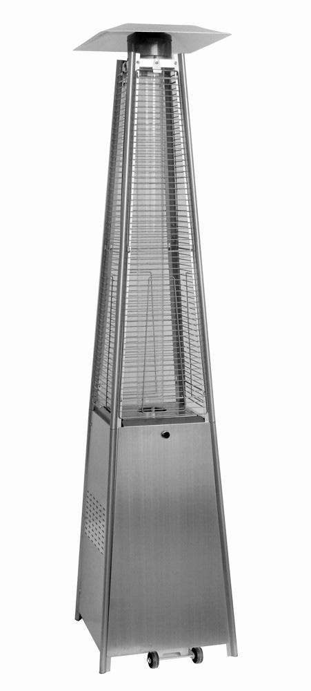 Уличный газовый обогреватель Aesto A-06 SilverГазовые обогреватели<br><br><br>Тип: газовый обогреватель<br>Номинальная тепловая мощность, кВт: 13<br>Расход газа: 0,95 кг/ч<br>Тип топлива: сжиженный пропан-бутан<br>Радиус обогрева, м: 5<br>Способ поджига: пьезо<br>Описание: высота: 2,3 м. Отражатель: 46x46x5,2 см. Подходит под газовый баллон 27 литров (высота 59 см, диаметр 30 см)