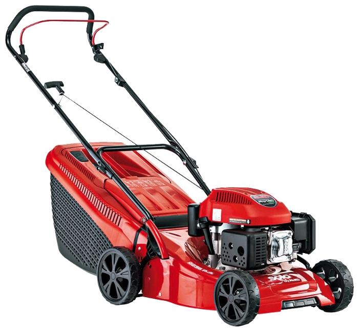 Газонокосилка AL-KO 127331 Solo by 4236 P-AГазонокосилки и триммеры<br><br><br>Тип: газонокосилка<br>Тип двигателя: бензиновый, четырехтактный<br>Ширина скашивания, см: 42<br>Регулировка высоты скашивания: есть<br>Тип травосборника: жесткий<br>Мощность двигателя (Вт): 2100<br>Мощность двигателя (л.с.): 2.80
