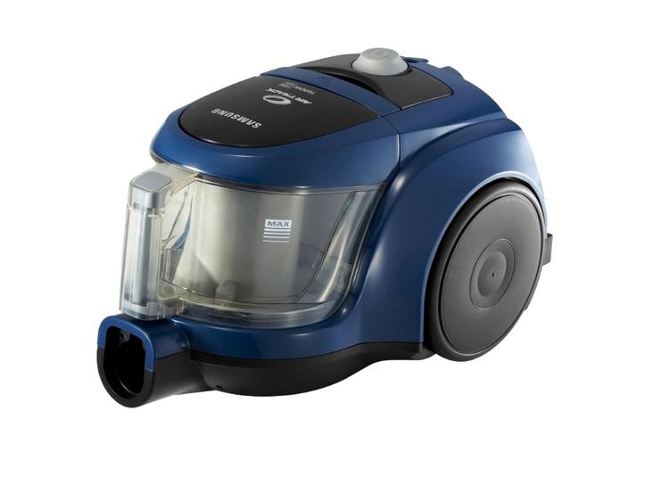 Пылесос Samsung SC4520 BlueПылесосы<br><br><br>Тип: Пылесос<br>Потребляемая мощность, Вт: 1600<br>Мощность всасывания, Вт: 350<br>Тип уборки: Сухая<br>Регулятор мощности на корпусе: Нет<br>Пылесборник: Циклонный фильтр<br>Емкостью пылесборника : 1.30 л