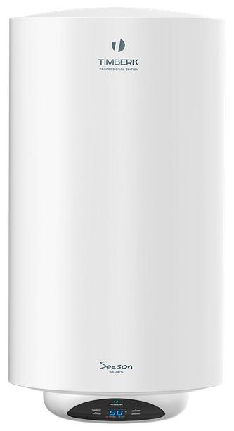 Водонагреватель Timberk SWH RE15 100 VВодонагреватели<br>Электрический накопительный водонагреватель Timberk SWH RE15 100 V оснащен сухим нагревательным элементом на 1,5 кВт, увеличенным магниевым анодом и резервуаром, покрытым изнутри эмалью, содержащей ионы серебра и меди. В нижней части корпуса водонагревателя расположен увеличенный электронный дисплей с индикацией температуры воды в баке.<br> <br> <br>- Увеличенная длина магниевого анода, защищающего внутренний бак от коррозии.<br>- Шикарный внешний вид, дизайнерская модель.<br>- Корпус из высококачественной стали, покрыт слоем белоснежной эмали.<br>- Русифицированная ...<br><br>Тип водонагревателя: накопительный<br>Способ нагрева: электрический<br>Объем емкости для воды, л.: 100<br>Номинальная мощность(кВт): 1.5<br>Управление: электронное