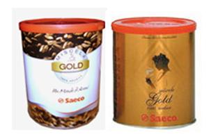Кофе молотый Saeco Gold 0,25 кг. ж/б