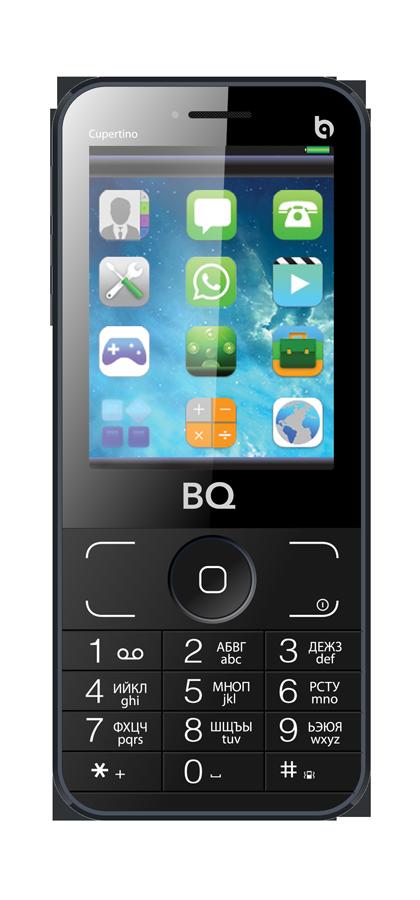 Мобильный телефон BQ BQM-2606 Cupertino GreyМобильные телефоны<br><br>