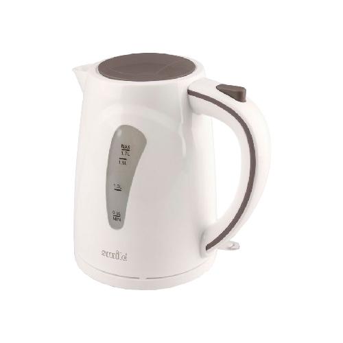 Электрочайник Smile WK 5304Чайники и термопоты<br>Электрический чайник Smile WK 5304 в стильном корпусе из термостойкого пластика с эффектной внутренней подсветкой создаст особую атмосферу и подчеркнет индивидуальность вашей кухни.<br><br>Широко открывающаяся крышка обеспечивает удобный набор воды и легкую очистку прибора.<br><br>Съемный моющийся фильтр предотвращает попадание мелких частиц накипи в чашку, благодаря чему вода всегда будет чистой и приятной на вкус.<br><br>Функция автоматического отключения чайника при закипании воды гарантирует безопасное использование прибора и экономию электроэнергии.<br><br>Тип   : Электрочайник<br>Объем, л  : 1.7<br>Тип нагревательного элемента: Закрытая спираль<br>Покрытие нагревательного элемента  : Нержавеющая сталь<br>Материал корпуса  : пластик<br>Индикация включения  : Есть<br>Индикатор уровня воды  : Есть<br>Блокировка включения без воды  : Есть