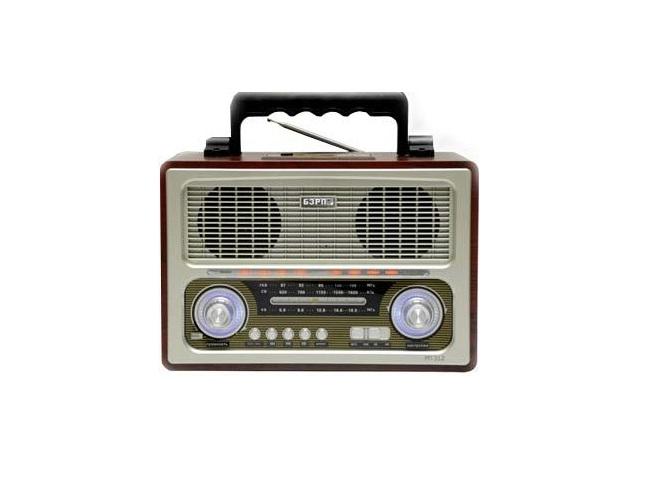 Радиоприемник Сигнал electronics РП-312Радиобудильники, приёмники и часы<br><br><br>Тип: Радиоприемник<br>Тип тюнера: Аналоговый<br>Колличество динамиков  : 2<br>Часы: Есть<br>Встроенный будильник  : Нет