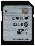 Купить Карта памяти Kingston 32 GB SDHC Class 10 UHS-I / SD10VG2-32GB