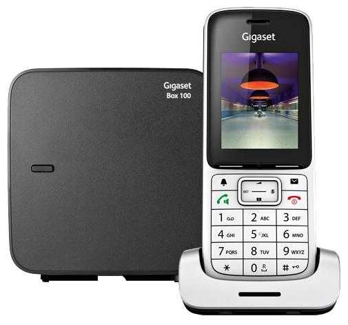 Радиотелефон Gigaset SL450 Silver