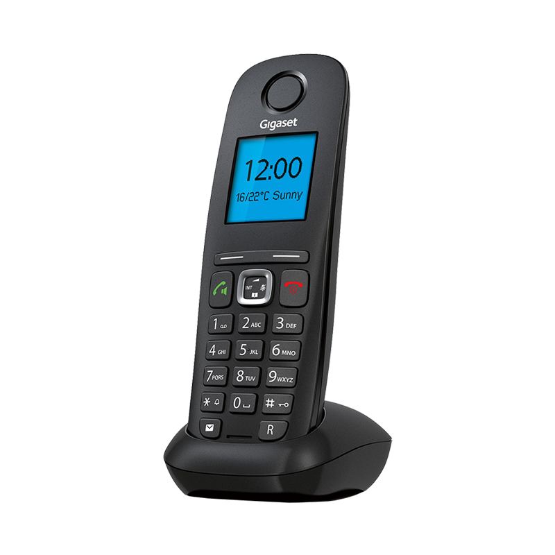 VoIP-телефон Gigaset A540 IP Black