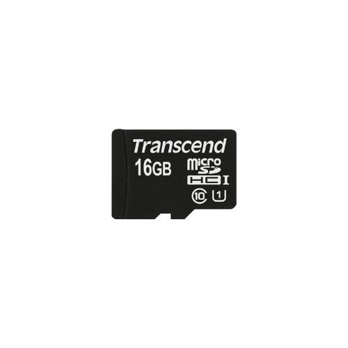 Карта памяти Transcend 16 GB microSDHC UHS-I Premium / TS16GUSDCU1