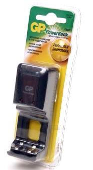 Зарядное устройство GP PB350GS + 4 аккумулятора R6, 2100 mAh